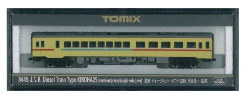 TOMIX Nゲージ 8445 キロハ25 (準急色・一段窓)