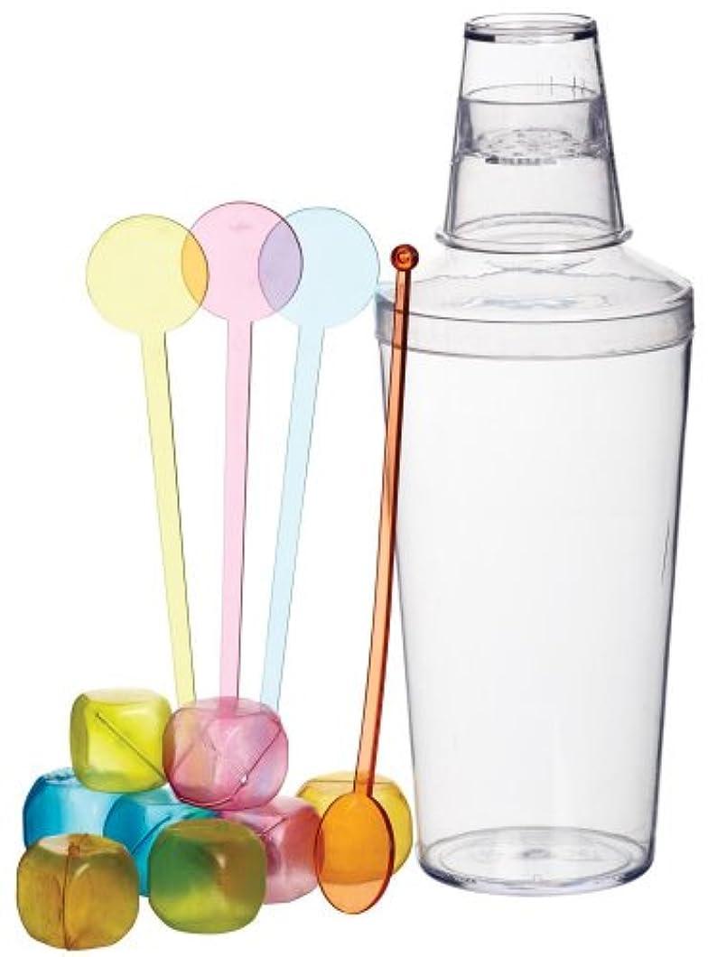 臨検無実ニッケル13 Piece Cocktail Shaker Set