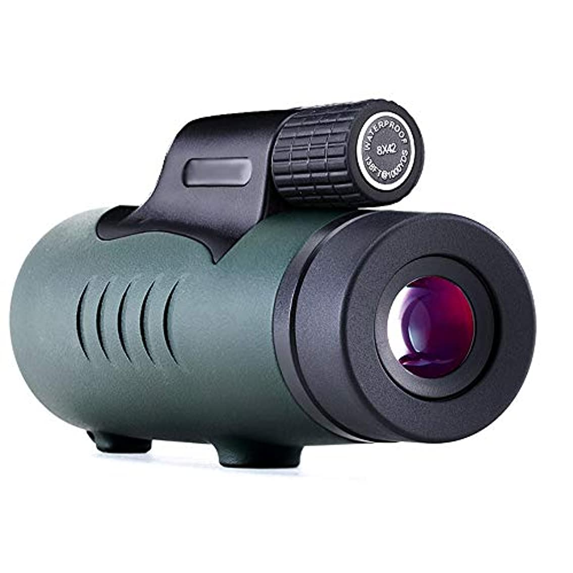 新年電報代数単眼、10×50高倍率、高精細、大口径、屋外キャンプの携帯電話の写真の望遠鏡、鳥の鏡