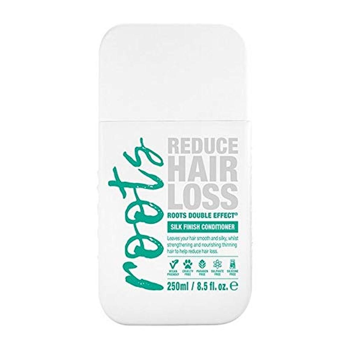豚曲がった不毛[Roots ] 根のダブル効果育毛シャンプー250Ml - Roots Double Effect Hair Growth Conditioner 250ml [並行輸入品]