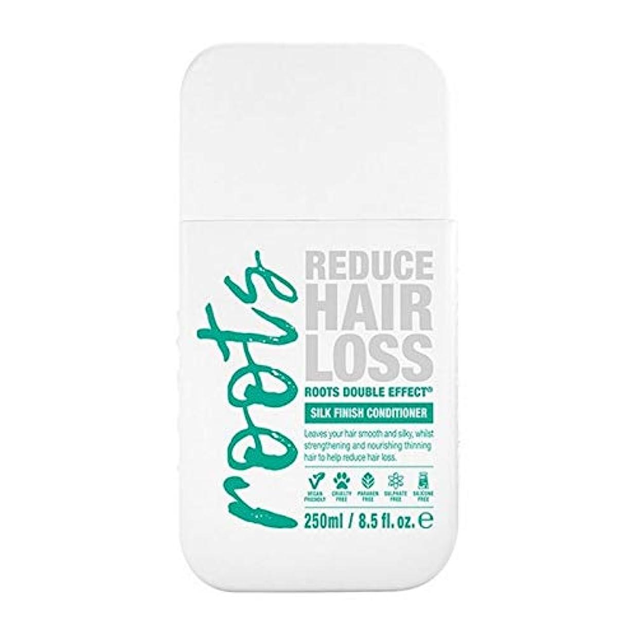 不倫必要とする蒸留[Roots ] 根のダブル効果育毛シャンプー250Ml - Roots Double Effect Hair Growth Conditioner 250ml [並行輸入品]