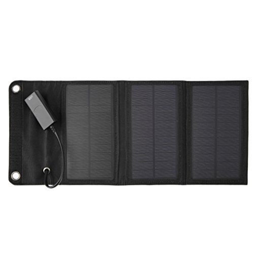 ICOCO 折りたたみ式 ソーラー 充電器