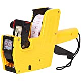 FlusRap 8 Digits Price Tag Labeler Accurate Easy Operation Durable Lable Pricing Machine