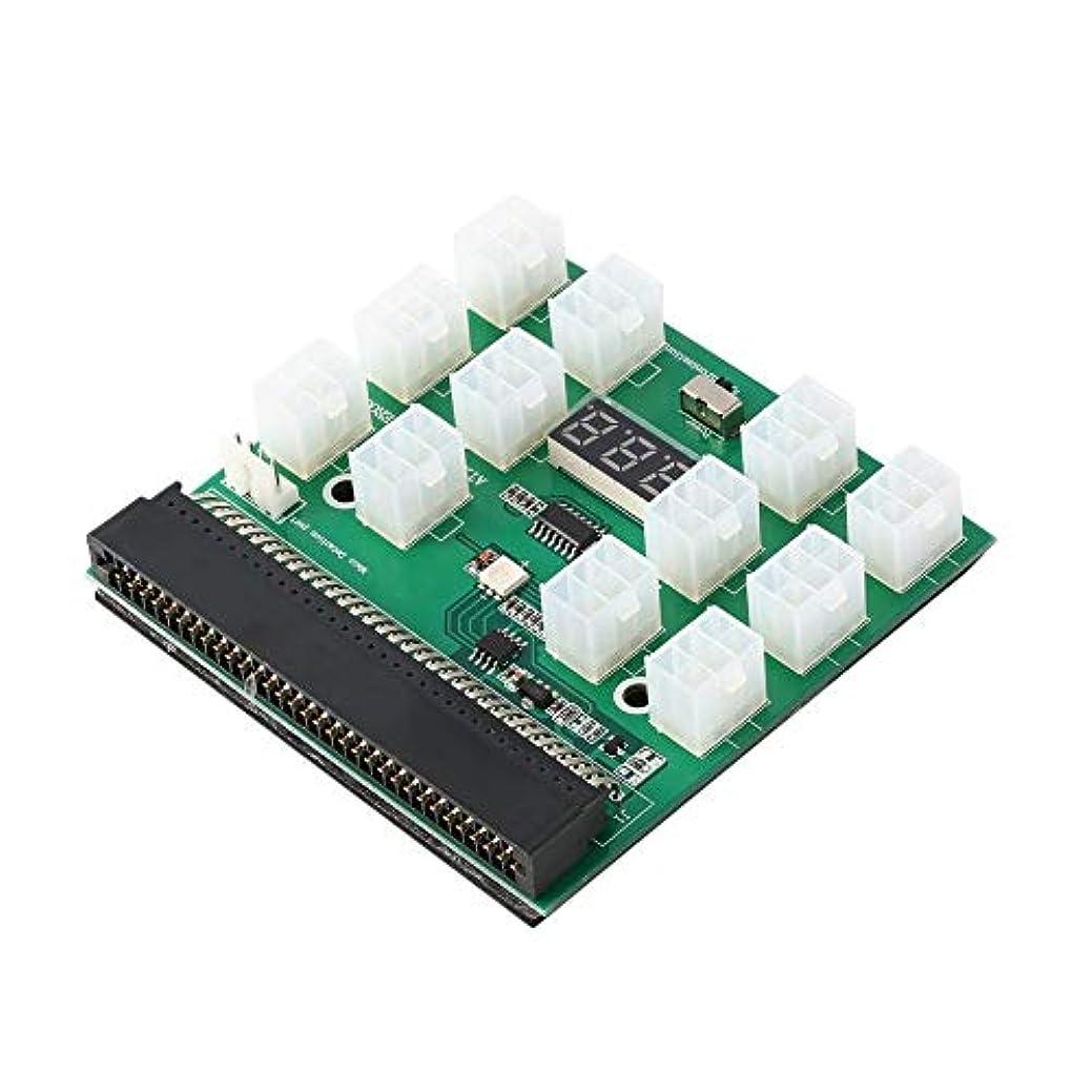 できれば縮約ロンドンGPU鉱業電源用LEDディスプレイと12 6PINポートPCI-Eブレイクアウトボード
