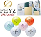 BRIDGESTONE(ブリヂストン) PHYZ ゴルフボール ホワイト ダース PZWX ホワイト