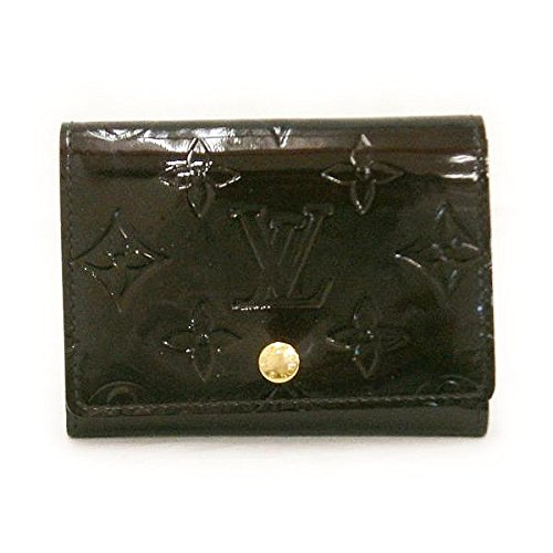 Louis Vuitton(ルイヴィトン) ヴェルニ アマラント カード入れ M91409 小物 [中古]