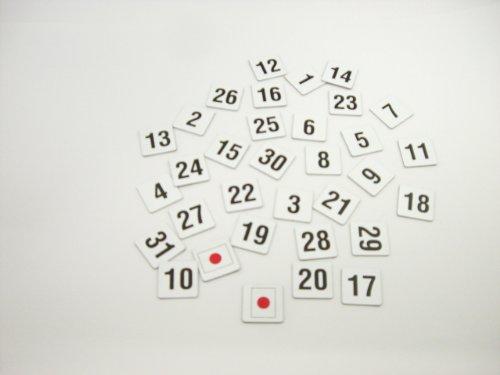 『サンケーキコム マグネットシート 数字 大 MS-08』の2枚目の画像
