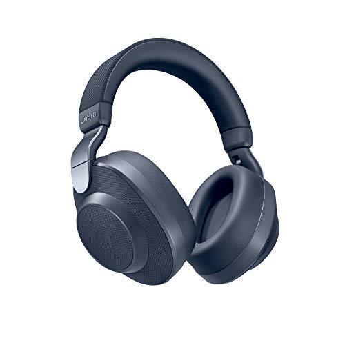 Jabra ワイヤレスノイズキャンセリングヘッドホン Elite 85h ネイビー Alexa対応 BT5.0 AIサウンド自動調整 8マイク 2台同時接続 北欧デザイン【国内正規品】 100-99030001-40-A
