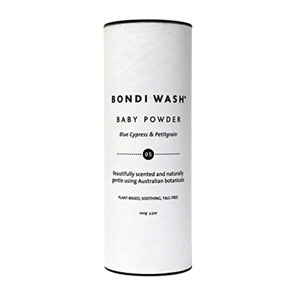 ツイン葉っぱ電子BONDI WASH ベビーパウダー 100g