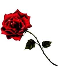 (ファンタジー) TheFantasy タトゥーシール バラ 薔薇 tm060227 【ワンポイント?5枚セット】