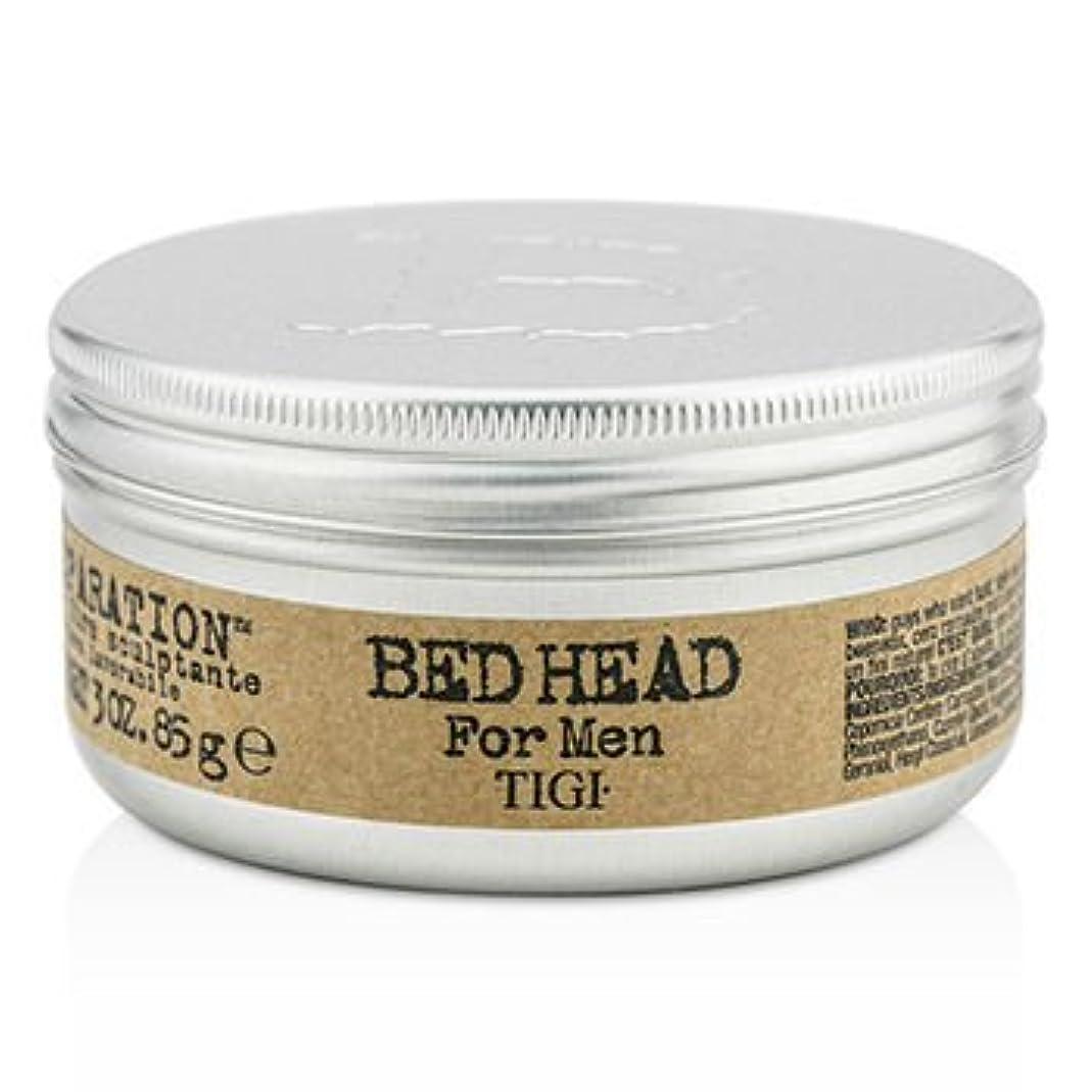 写真撮影収容する蓄積する[Tigi] Bed Head B For Men Matte Separation Workable Wax 85g/3oz