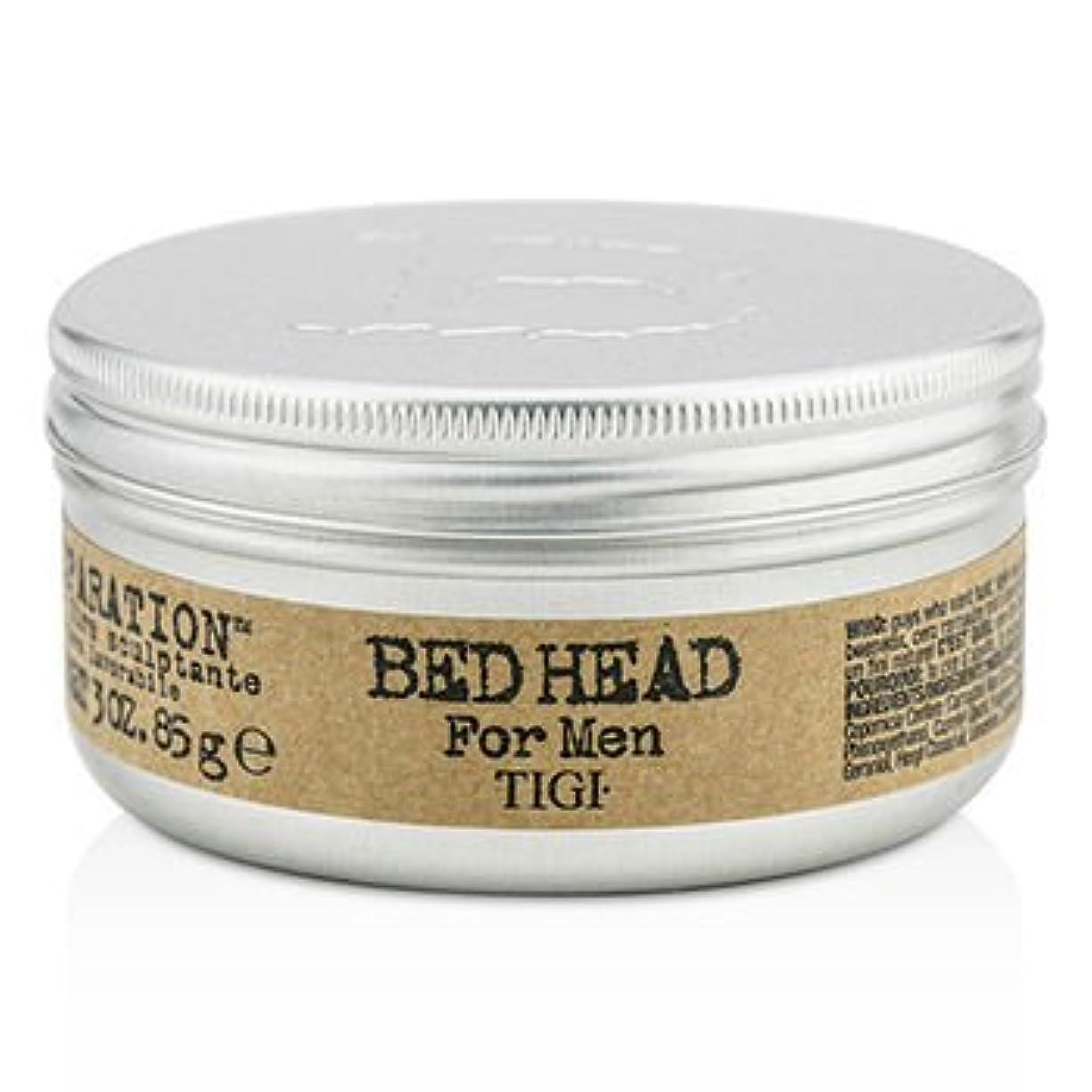 バルブパニックきょうだい[Tigi] Bed Head B For Men Matte Separation Workable Wax 85g/3oz