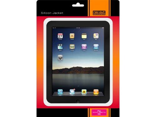 レイアウト iPad(2010年1月発表モデル)用シリコンジャケット/ホワイト RT-PA1C1/W