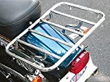 キジマ(Kijima) ミーティングキャリア ハーレーダビッドソン FXST('86-'05)/FLSTF('86-'06) タンデムシート対応 二人乗りOK スチール製クロームメッキ HD-08142