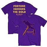 ボヘミアン・ラプソディ11月公開記念 QUEEN クイーン - Fortune/バックプリントあり / Tシャツ/メンズ 【公式/オフィシャル】