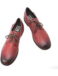 [オーナイン] O-NINE カジュアルシューズ メンズ カジュアル シューズ 靴 レースアップ カジュアル フェイクレザー フェイクスエード シューズ プレーントゥ 【AZ352C】