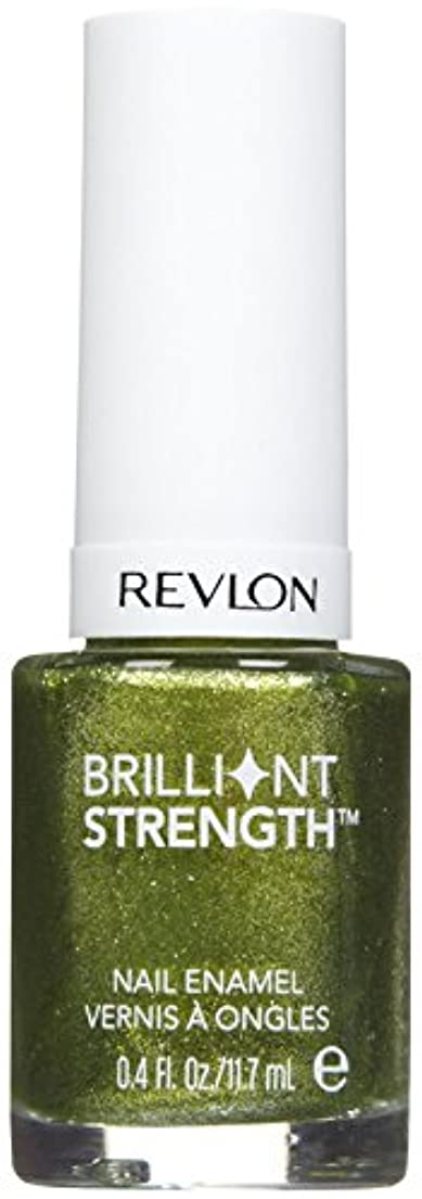 反乱ずんぐりしたオアシスREVLON BRILLIANT STRENGTH NAIL ENAMEL #120 TANTALIZE