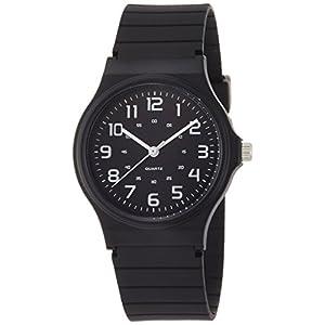 [フィールドワーク]Fieldwork 腕時計 ハーヴィー アナログ表示 ウレタンベルト ブラック×ホワイト DT108-2 メンズ