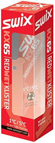 SWIX(スウィックス) KX KRYSTAL クリスターワックス レッドクリスター +1℃~+5℃ KX65