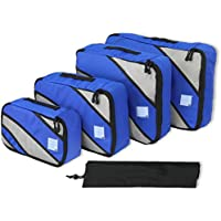 4 Set Packing Cube - Travel Organizers with Laundry Bag