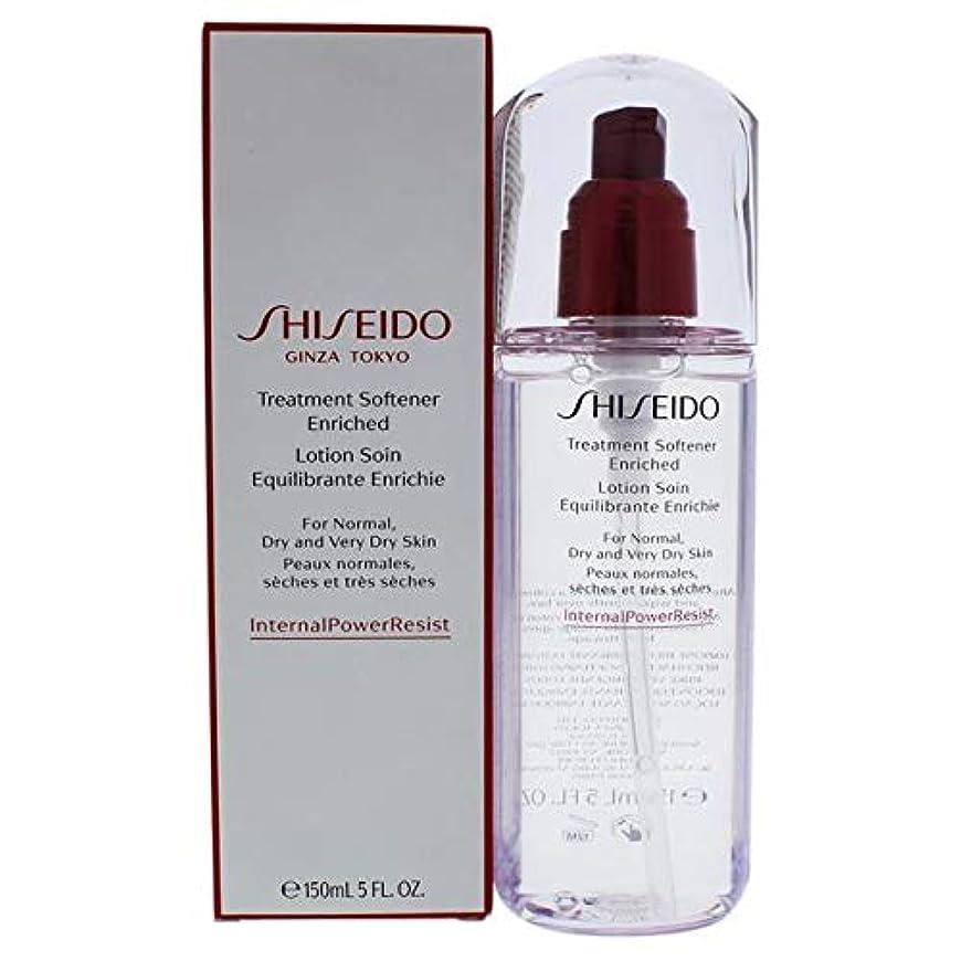 ロック解除大使地上で資生堂 Defend Beauty Treatment Softener Enriched 150ml/5oz並行輸入品