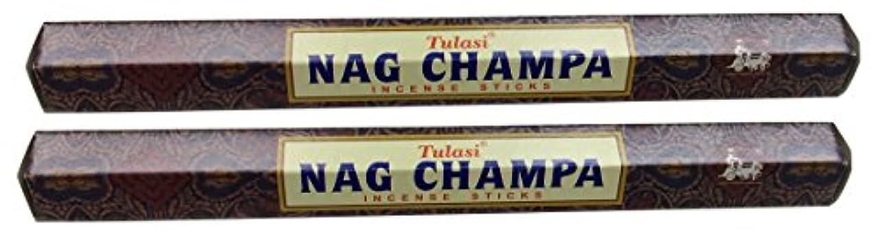 引き出しすべき文TULASI サラチ STICKS お香 40本入り NAG CHAMPA ナグチャンパ 025001-2