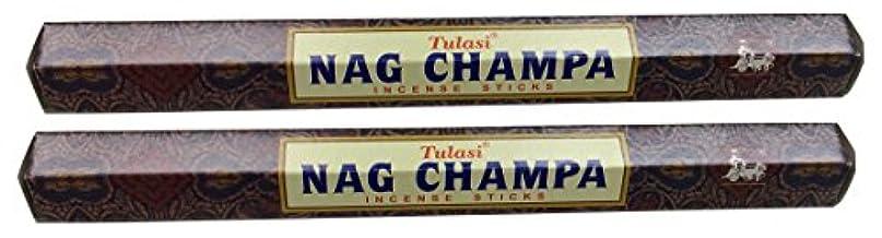 専ら九時四十五分確立TULASI サラチ STICKS お香 40本入り NAG CHAMPA ナグチャンパ 025001-2