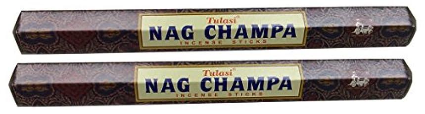 慰めびっくり延期するTULASI サラチ STICKS お香 40本入り NAG CHAMPA ナグチャンパ 025001-2