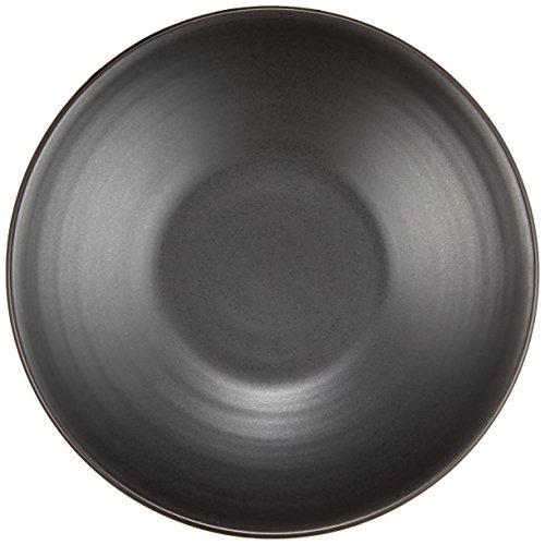 白山陶器 陶茶托 黒炭釉(φ12×2.2㎝)