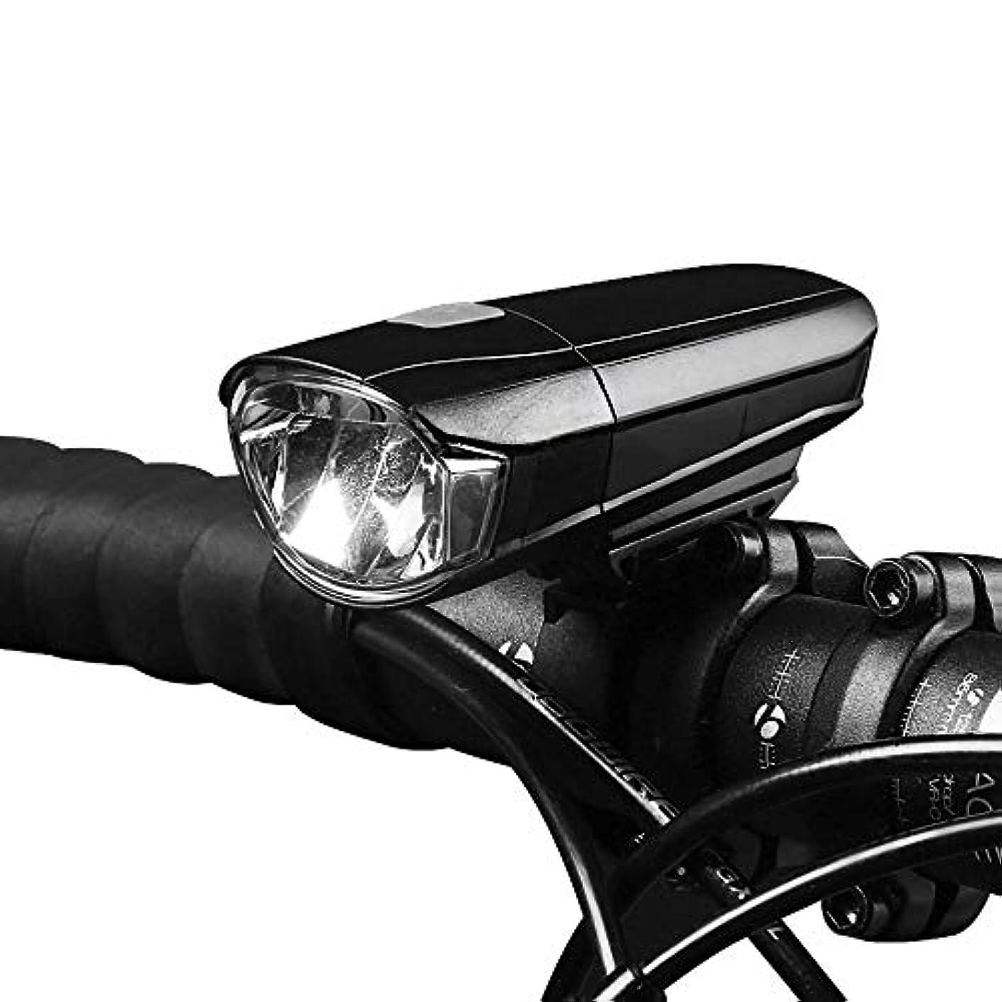 革命的支配的病Okiiting 自転車用ライトセットスーパーブライトUSB充電式自転車ライト防水マウンテンロード自転車用ライト充電式USB自転車用ヘッドライト自転車用ヘッドライトストロングライト自転車用ライト防水自転車用ライト長寿命 うまく設計された (Color : Black)