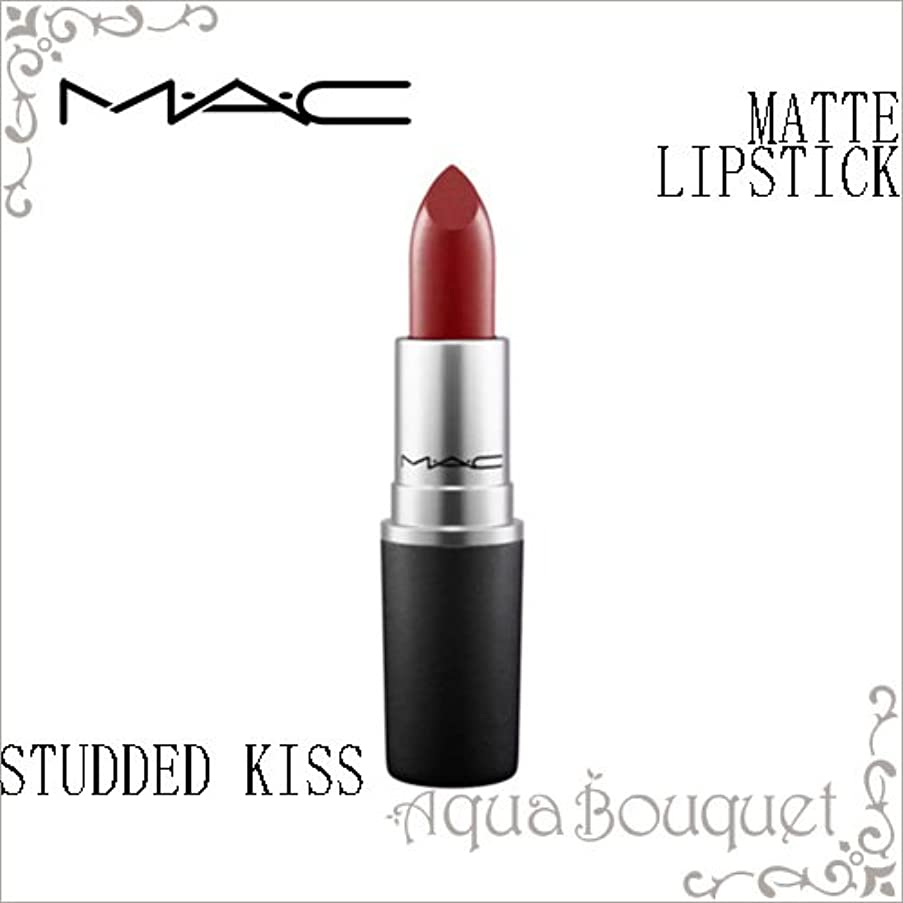 フィットネスゲートウェイ無しマック(MAC) THE MATTE LIP リップスティックマット #スタディッド キス 3g [388325][並行輸入品]