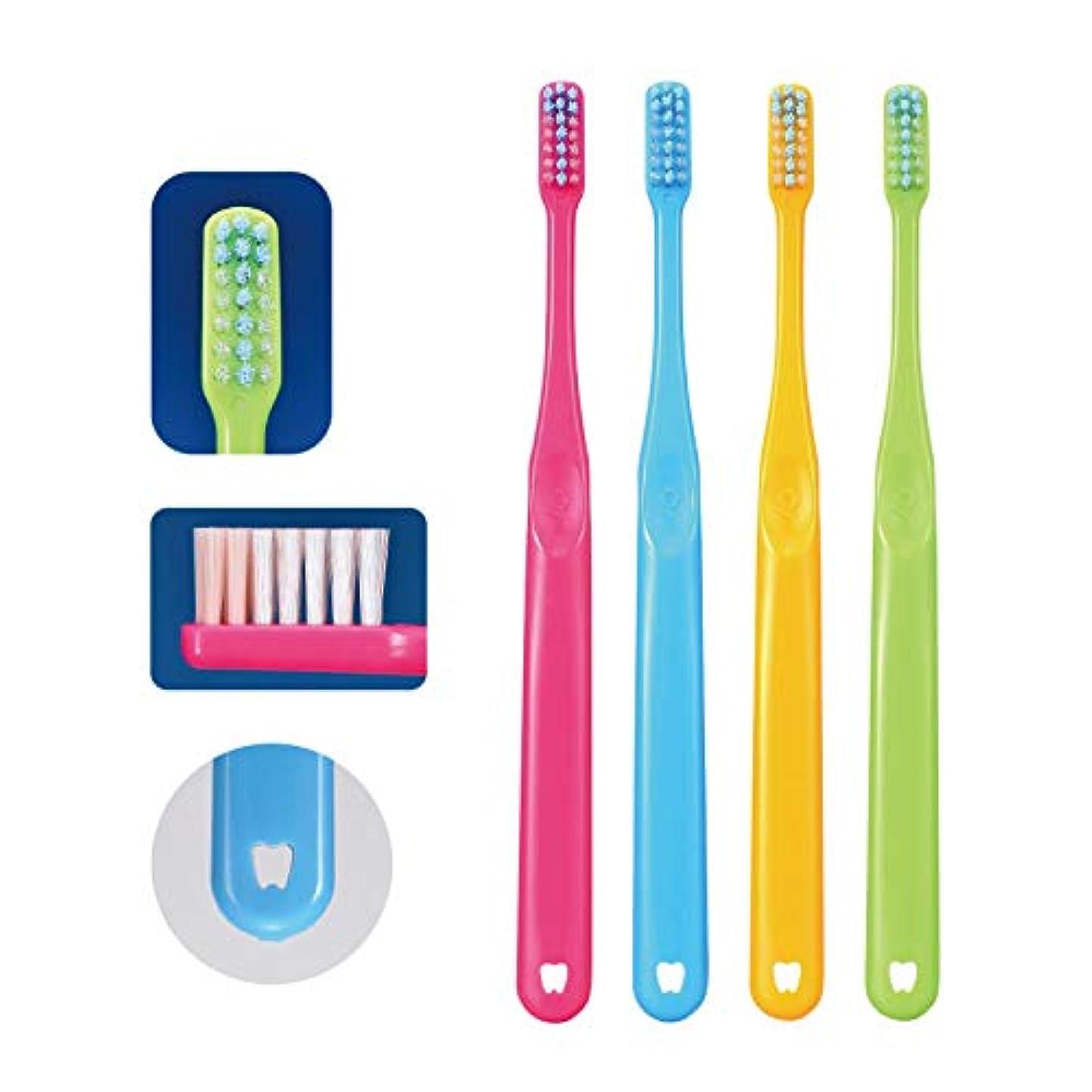 トランスペアレント傘才能のあるCi PRO PLUS プロプラス 歯ブラシ 20本 M(ふつう) 日本製 プラーク除去 歯科専売品