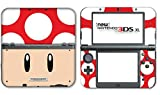 New Super Mario Bros Toad Special Edition Video Game Vinyl Decal Skin Sticker Cover for the New Nintendo 3DS XL LL 2015 System Console by Vinyl Skin Designs [並行輸入品]