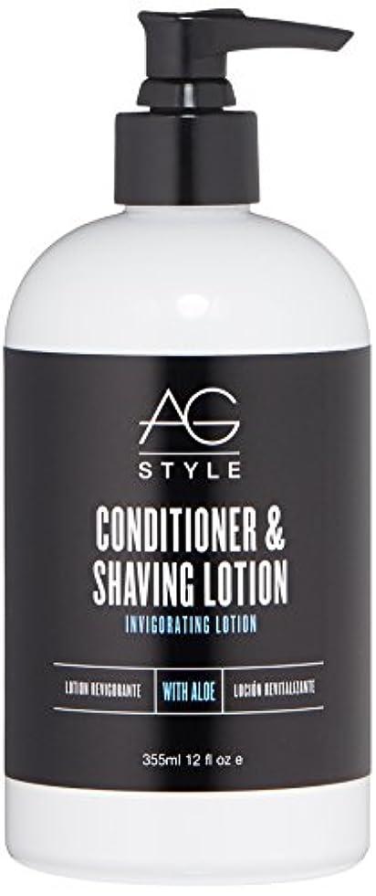 一般契約した墓AG Hair スタイルコンディショナー&シェービングローション爽快ローション 12 fl。オンス