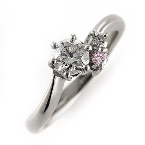 婚約指輪(エンゲージリング) プラチナピンクダイヤモンドリング(ラウンドブリリアント) #8