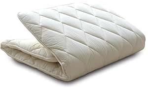 エムール 三層敷き布団 『クラッセ』 シングルロング 防ダニ 抗菌 防臭 綿100% 日本製