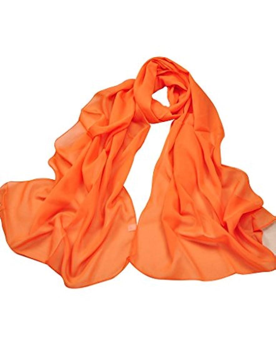 高い接辞泳ぐ(ベストギフト)Bestgift 全20色 レディース ファッション UVカット スカーフ レッド オレンジ フリーサイズ