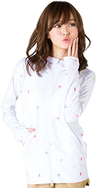 ICEPARDAL(アイスパーダル) レディース ラッシュガード パーカー 全20色柄 S~3Lサイズ 長袖 UVカット UPF50 + YKKダブルジップ使用 IR-7200