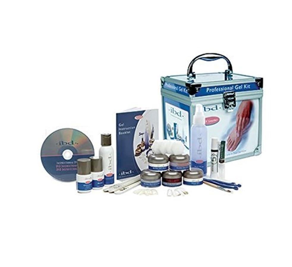 ボタンナイロン無駄にIBD - LED/UV Hard Gel Professional Kit
