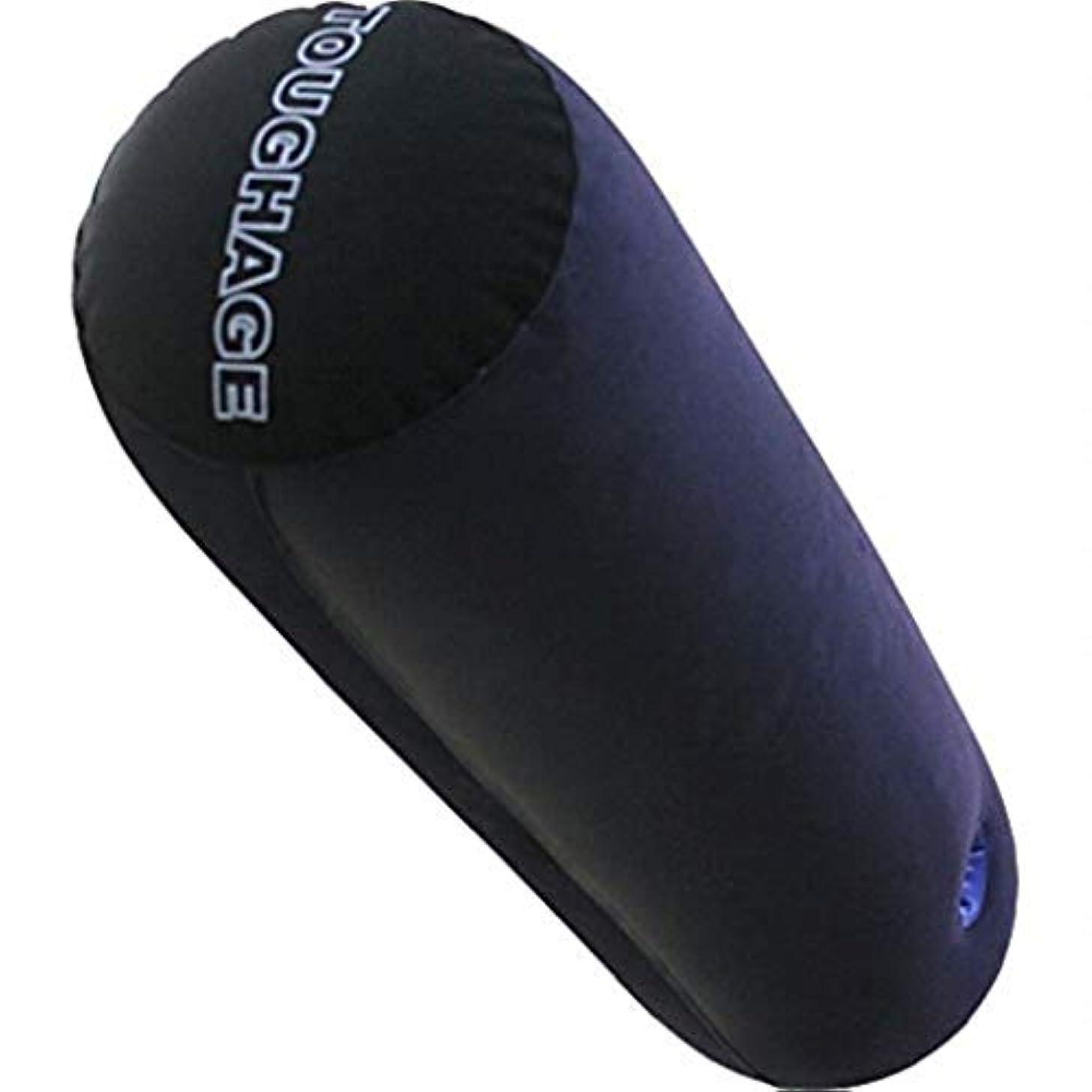 欲望スポーツマンポーチRisareyi 携帯用ソファーの枕、睡眠のための円形の首の枕、首の苦痛救助、シリンダー支え枕、クッションカバー家/寝室