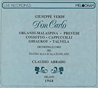 Verdi;Don Carlo