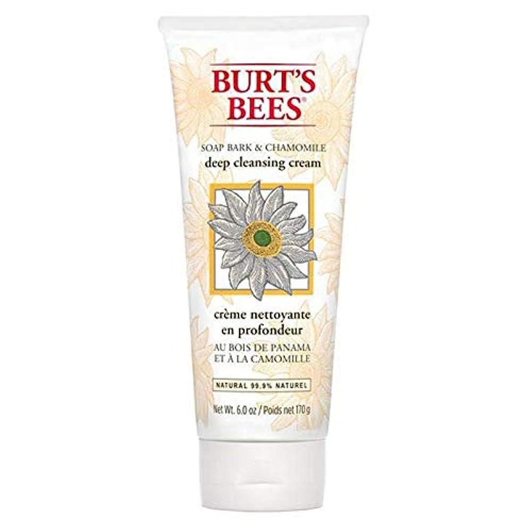 夕食を作るシャックル作業[Burt's Bees ] バーツビー石鹸樹皮&カモミールディープクレンジングクリーム170グラム - Burt's Bees Soap Bark & Chamomile Deep Cleansing Cream 170g...