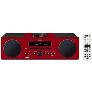 ヤマハ マイクロコンポ MCR-B043 CD USB ワイドFM AMラジオ Bluetooth 対応 クロックオーディオ レッド MCR-B043(R)
