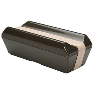 三好製作所 保冷剤一体型 ランチボックス GEL-COOL fit PECO (凹) ブラウン GC-101