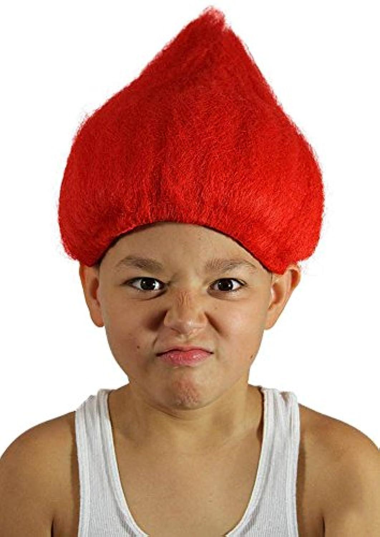 [マイコスチュームウィッグ]My Costume Wigs Red Troll Wig One Size Fits All UTRedTrollKid [並行輸入品]