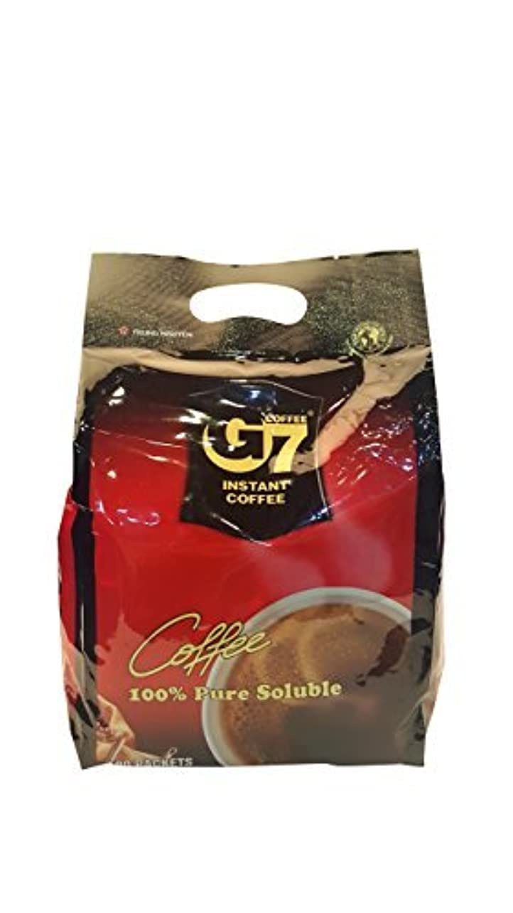相対サイズ差ナイロンG7 Black Instant Vietnamese Coffee 7.05oz(200g) 100 Sticks [並行輸入品]