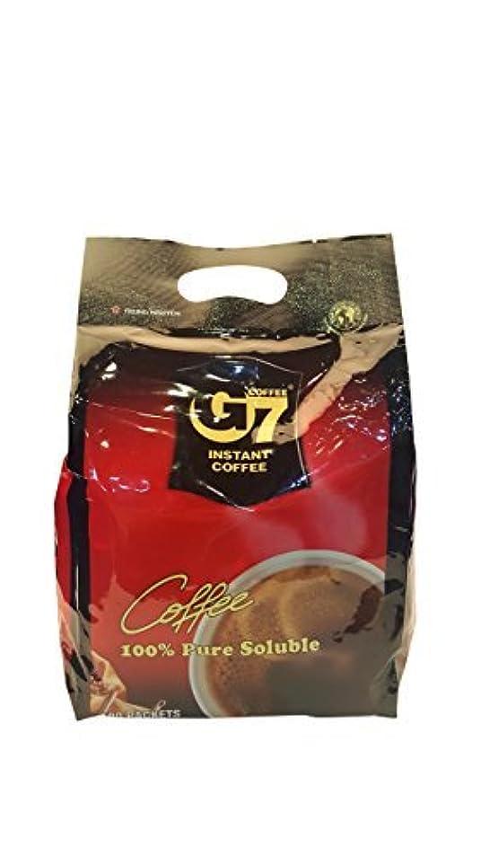 うぬぼれ染料第二にG7 Black Instant Vietnamese Coffee 7.05oz(200g) 100 Sticks [並行輸入品]