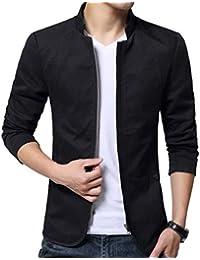 JHIJSC ジャケット メンズ コート ブルゾン 無地 長袖 秋冬 大きいサイズ