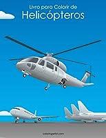 Livro para Colorir de Helicópteros