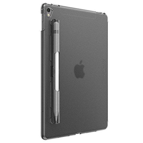 iPad Pro 10.5 ケース SwitchEasy CoverBuddy ハード バック カバー Apple Pencil 収納付き 純正 スマートキーボード 対応 [ アイパッドプロ10.5 インチ 専用 ] スモークブラック